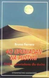 Okładka książki 40 opowiadań na pustyni