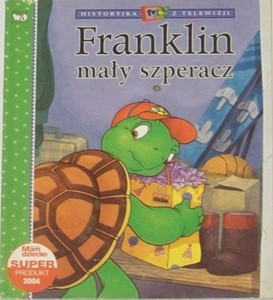 Okładka książki Franklin mały szperacz