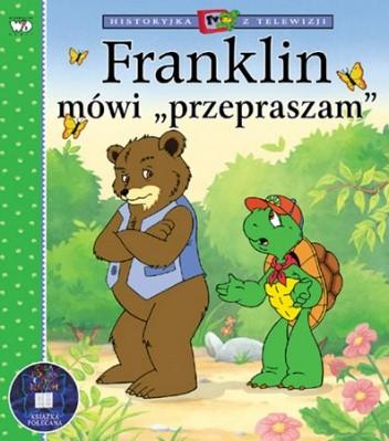 """Okładka książki Franklin mówi """"przepraszam"""""""