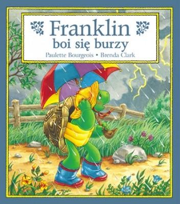 Okładka książki Franklin boi się burzy