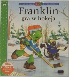 Okładka książki Franklin gra w hokeja