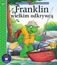 Okładka książki Franklin wielkim odkrywcą