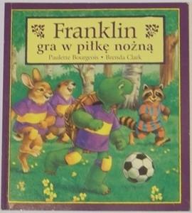 Okładka książki Franklin gra w piłkę nożną