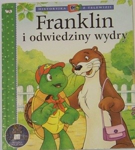 Okładka książki Franklin i odwiedziny wydry