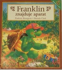 Okładka książki Franklin znajduje aparat