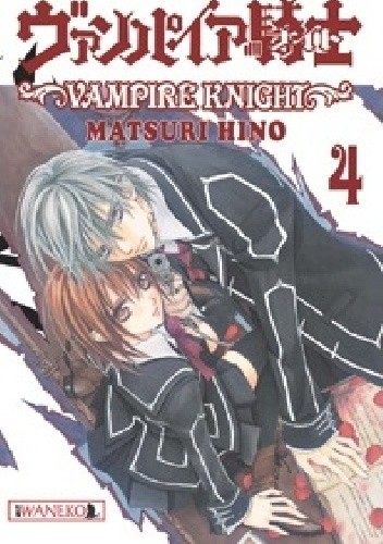 Okładka książki Vampire Knight tom 4