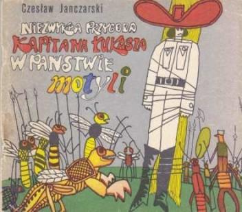 Okładka książki Niezwykła przygoda Kapitana Łukasza w Państwie Motyli