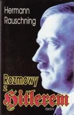 Okładka książki Rozmowy z Hitlerem