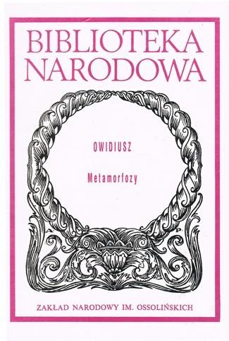 Okładka książki Metamorfozy