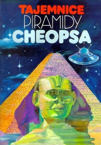 Okładka książki Tajemnice piramidy Cheopsa