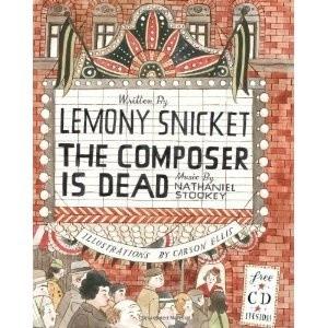Okładka książki The Composer is Dead