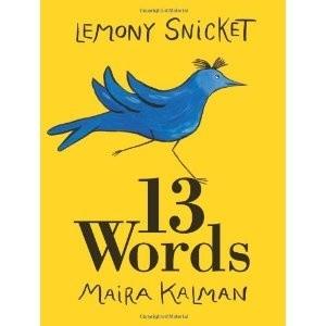 Okładka książki 13 Words