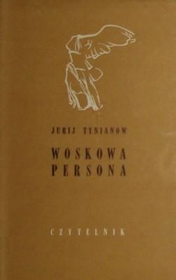 Okładka książki Woskowa persona