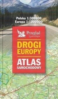 Okładka książki Drogi Europy - atlas samochodowy