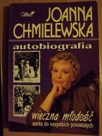 Okładka książki Autobiografia-wieczna młodość aneks do wszystkich pozostałych