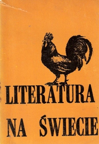 Okładka książki Literatura na świecie nr 7/1982 (132)