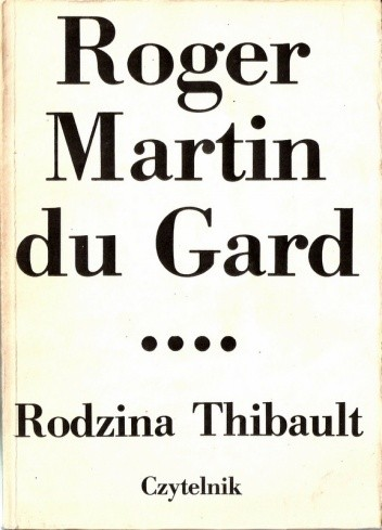 Okładka książki Rodzina Thibault. Tom 4. Lato 1914 (II). Epilog