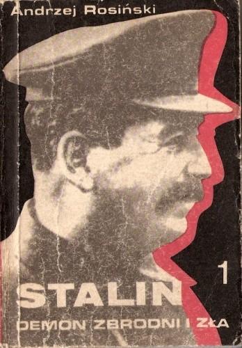 Okładka książki Stalin demon zbrodni i zła. Wielka czystka 1934-1939