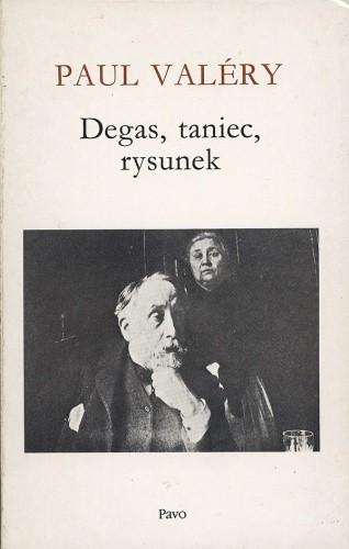 Okładka książki Degas, taniec, rysunek