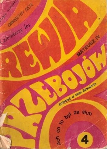 Okładka książki Rewia przebojów 4. Melodie i teksty