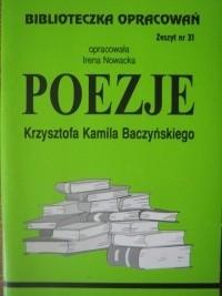 Okładka książki Poezje Krzysztofa Kamila Baczyńskiego