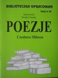 Okładka książki Poezje Czesława Miłosza
