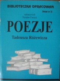 Okładka książki Poezje Tadeusza Różewicza