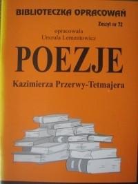 Okładka książki Poezje Kazimierza Przerwy - Tetmajera