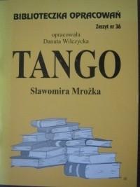 Okładka książki Tango Sławomira Mrożka