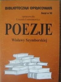 Okładka książki Poezje Wisławy Szymborskiej