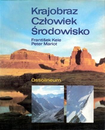 Okładka książki Krajobraz, człowiek, środowisko