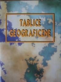Okładka książki Tablice geograficzne