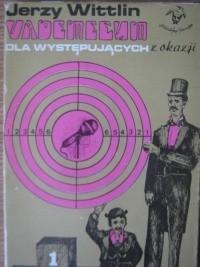 Okładka książki Vademecum dla występujących z okazji