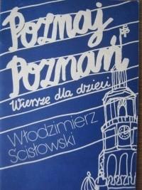 Okładka książki Poznaj Poznań. Wiersze dla dzieci