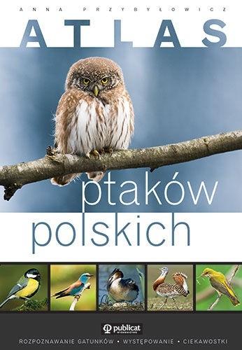 Okładka książki Atlas ptaków polskich