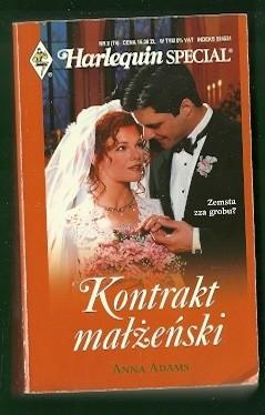 Okładka książki Kontrakt małżeński