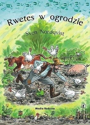 Okładka książki Rwetes w ogrodzie