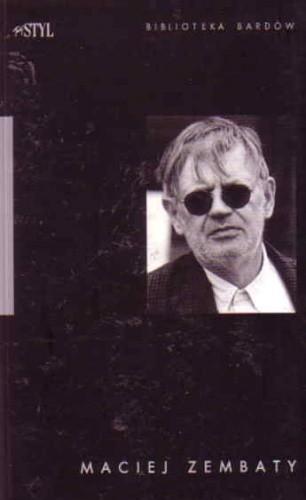Okładka książki Maciej Zembaty