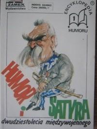 Okładka książki Humor i satyra dwudziestolecia międzywojennego