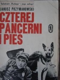 Okładka książki Czterej pancerni i pies. Szlakiem