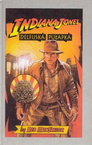 Okładka książki Indiana Jones i Delfijska Pułapka