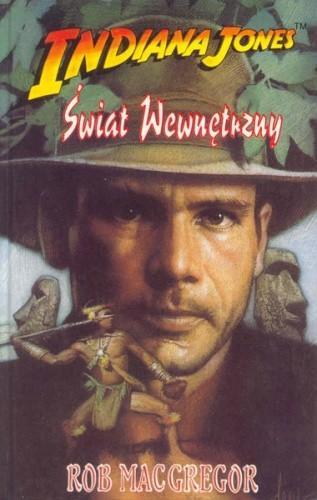 Okładka książki Indiana Jones i Świat Wewnętrzny