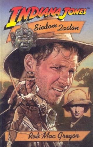 Okładka książki Indiana Jones i Siedem Zasłon