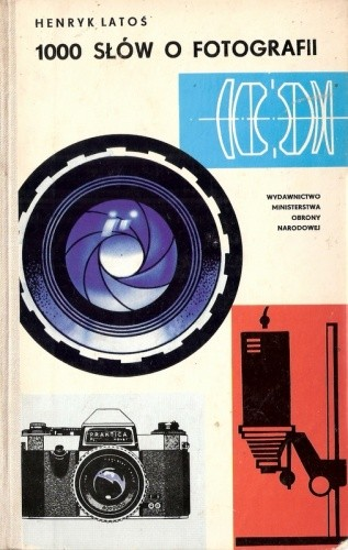 Okładka książki 1000 słów o fotografii