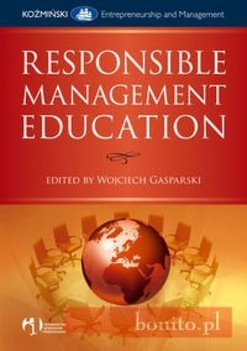 Okładka książki Responsible Management Education