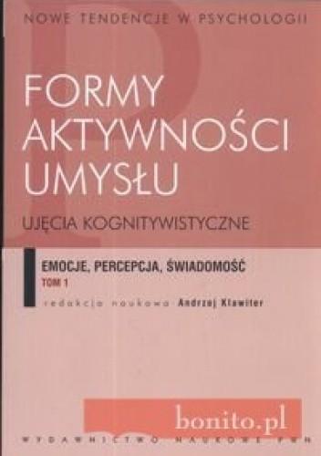 Okładka książki Formy aktywności umysłu