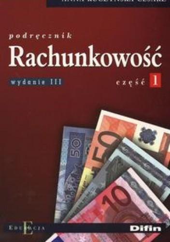 Okładka książki Rachunkowość część 1