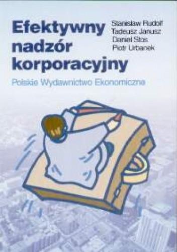 Okładka książki Efektywny nadzór korporacyjny