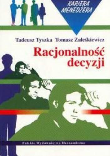 Okładka książki Racjonalność decyzji