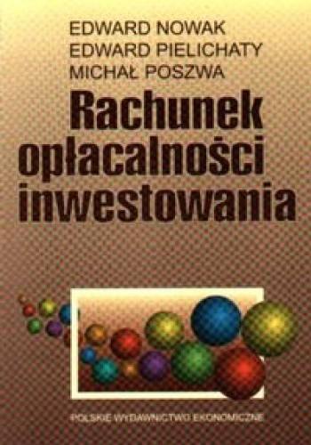 Okładka książki Rachunek opłacalności inwestowania